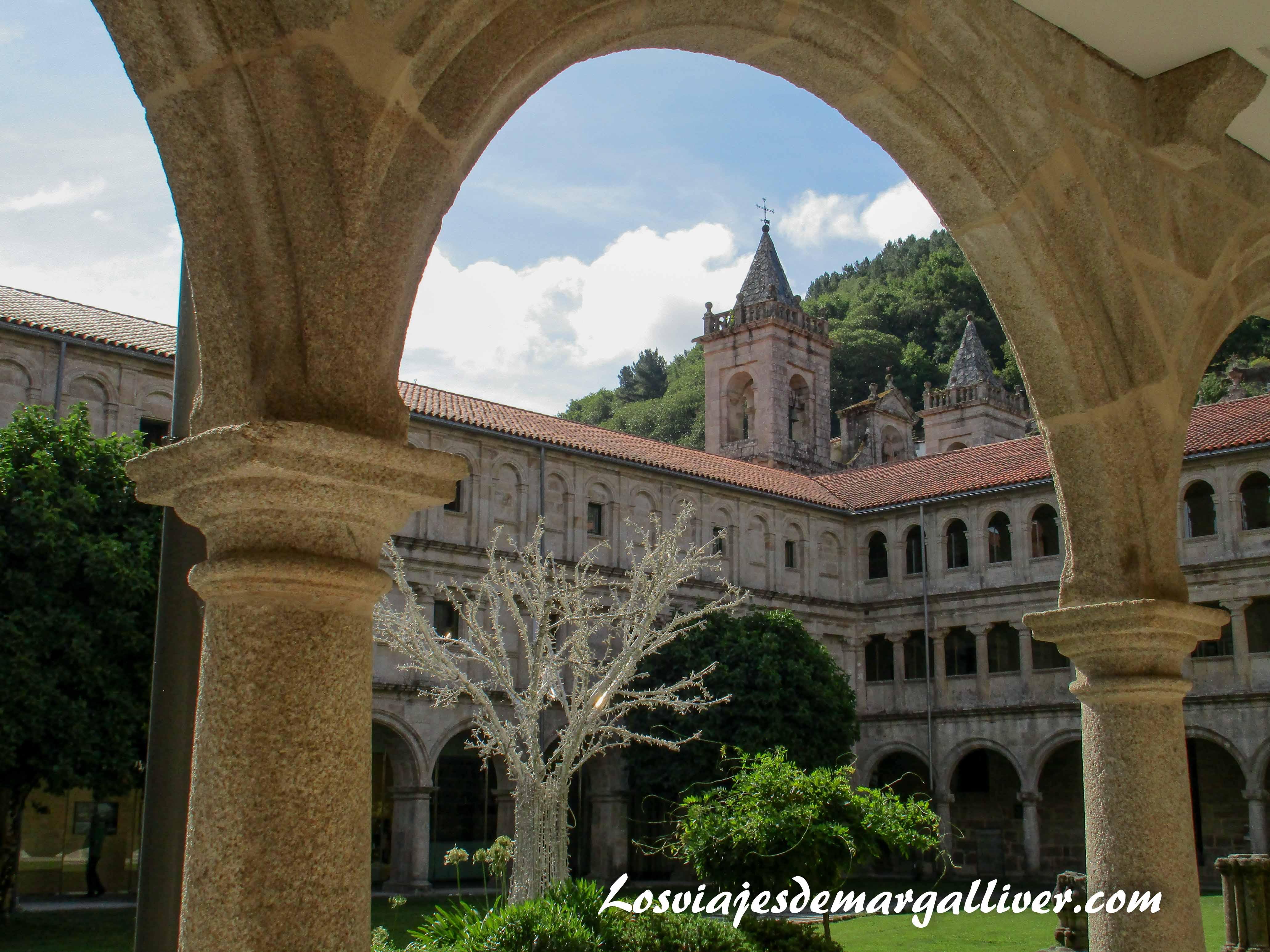 Monasterio de Santo Estevo do Ribas do Sil en la Ribeira Sacra - Los viajes de Margalliver